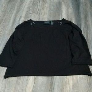 Liz Claiborne Axcess Black sweater XL